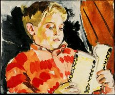 Sandra FISHER. - boy reading