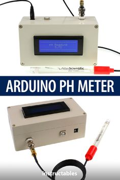 ARDUINO PH METER Make a bench top pH meter using the gravity analog pH circuit and probe from Atlas Scientific Arduino Class, Arduino Programming, Arduino Circuit, Arduino Sensors, Arduino Cnc, New Electronic Gadgets, Electronic Shop, Kids Electronics, Electronics Projects