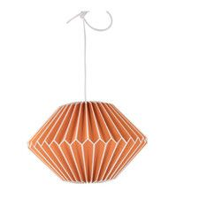 A perfect contemporary centre piece for any room. Its a paper origami lampshade with magnetic fastenings. Glass Pendant Shades, Glass Light Shades, Ceiling Pendant, Ceiling Lights, Origami Lampshade, Buy Lamps, Rectangular Lamp Shades, Light Fittings, Lampshades