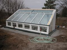 earth sheltered greenhouse
