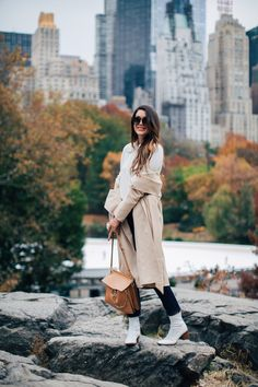 Fall in Central Park | Thrifts and Threads