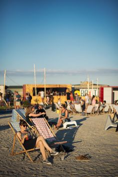Redmolen: A beach bar situated next to newly built apartments and industrial buildings. Grab a sun chair, buy an aperol spritz and enjoy the sun. If you go here on a Friday, there are live DJ's playing music as well. Address: Redmolen Strandbar, Redmolen, Nordhavn