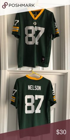 79c3b5b06d Jordy Nelson #87 jersey Green Bay Packers jersey. Worn once. Great  condition NFL