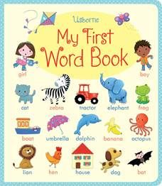 Usborne - My First Spanish Word BookA delightfully simple illustrated word book that will help children build their Spanish vocabulary. There are over 270 Spanish words for children to spot, talk about and learn, each with its own colourful illustration. Books For Boys, Childrens Books, My Books, Spanish Words, French Words, Spanish Language, French Language, Vocabulary Builder, Illustrated Words