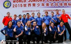 15 Billiard Student-Athletes Proudly Represented U.S. in Shanghai at World Junior Championships - http://thepoolscene.com/juniors/15-billiard-student-athletes-proudly-represented-u-s-in-shanghai-at-world-junior-championships - Chris Robinson, Joshua Franklin, Zachary Gurganus - Junior Billiards