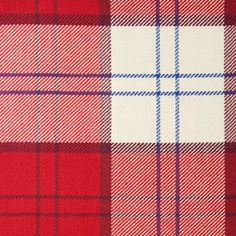 LENNOX (Dress Red) GL039 100% Wool 10.5oz Tartan. Woven in Yorkshire by Marton Mills. Wool Fabric, Design Show, Dress Red, Yorkshire, Tartan, Swatch, Weaving, Pure Products, Quilts