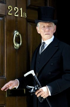 Ian McKellen in Mr. Holmes (2015).  Is anyone else crying?  Don't we understand what this means!?!?