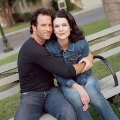 Lorelai Gilmore and Luke Danes #gilmoregirls