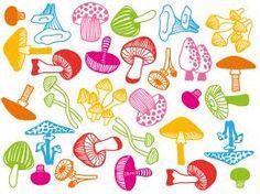 mushroom illustration - Google Search