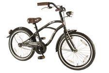 20 Zoll Black Cruiser Kinder Fahrrad Retro Oldschool Holland Rad Kids Bicycle