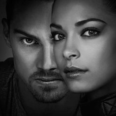 Jay Ryan as (Vincent) and Kristin Kreuk as (Catherine) #BATB