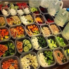 Clean eating, prepared meals, healthy and they stop you snacking...