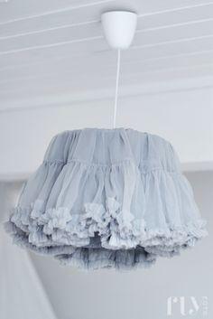 Ballerina skit into ballerina lighting... like the skirt idea