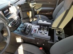 Chevy Tahoe Custom Center Console Fire Command