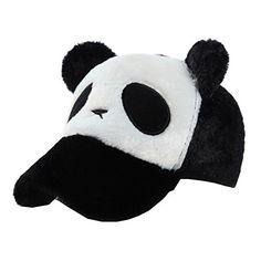 3920a8b3de9c Flying Hedwig Bébé Chapeau de Béret Bonnet CasquettePlate de Coton Laine  Baseball avec Oreille de Panda