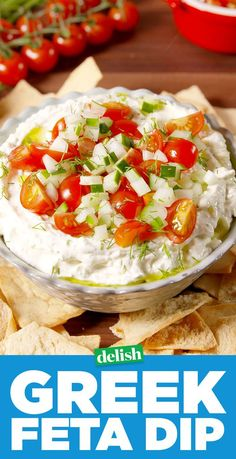 You Will Lose Your Mind Over This Greek Feta DipDelish