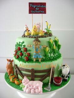 Bolo Fazendinha - Little farm cake | por Alexandra Bolos Artísticos