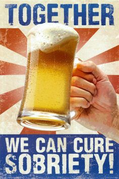 Cure Sobriety Photo from AllPosters.com