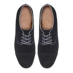 DERBY EN CROÛTE DE CUIR - Chaussures - Chaussures - Homme - ZARA France