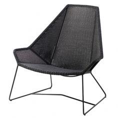 Breeze Highback Chair, Black Sessel, Backen, Schwarze Gartenmöbel,  Gartenmöbel, Gartenstühle,