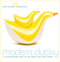 Modern Rubber Ducky Baby Shower
