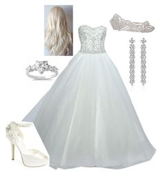 Beautiful Dresses, Nice Dresses, Formal Dresses, Ball Gown Dresses, Bridal Dresses, White Queen, Royal Queen, Floral Skirt Outfits, Chic Outfits