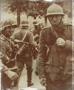 soldat français prisonnier en 1940