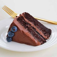 The Best Chocolate Mud Cake | Most Popular - Bake Play Smile