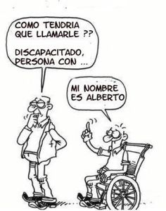 ¿Discapacitado, incapacitado?
