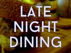LATE NIGHT DINING - RESTAURANTS OPEN LATE IN AMSTERDAM - You've been drinking at the bar or working late and suddenly you notice you're starved! But it's after 10pm. Where can you grab a meal and maybe a drink? Here are our tips for late night eats in Amsterdam.