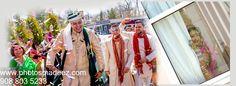 Baraat for Punjabi Wedding in Leonards Palazzo, NY. Best Wedding Photographer in Long Island PhotosMadeEz. Mixed Wedding in New York
