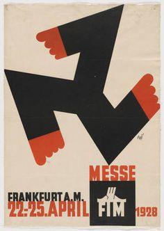 Messe, F.I.M., Frankfurt A.M., 22 - 25 April 1928  Albert Fuss (German, 1889–1969)