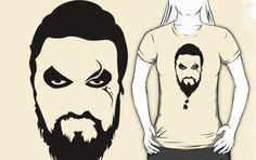 $ 49.90 Camiseta KHAL DROGO - Lojas Khaleesi