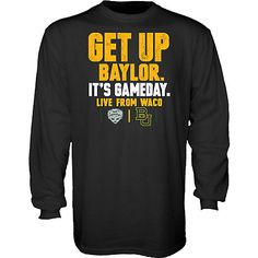 Official #Baylor College GameDay shirt, available now from the Baylor Bookstore
