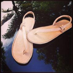 Summer Sandal - Handmade on Etsy, $60.00