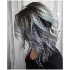 Going Grey? You can DO IT Learning to Embrace Silver Hair! ❤ liked on Polyvore featuring hair and hairstyles