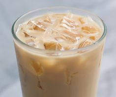 Lavender Earl Grey Iced Tea Latte-Had a version with vanilla syrup in Chicago from Argo tea.....BLISS