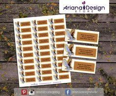 exclusive designs for invitations, party kits and labels by ArianaDesignStore Personalized Invitations, Personalized Products, Printable Labels, Printables, School Labels, My Son Birthday, Mailing Labels, Party Kit, Return Address Labels