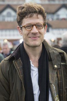 James Norton wearing glasses