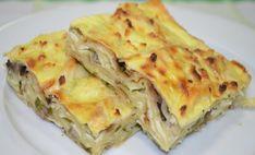 Пирог из лаваша с грибами и сыром — это быстро, вкусно и тесто ставить не надо.