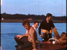 Elvis in july 1956 in Biloxi ( Mississippi ) here with his friend Red West