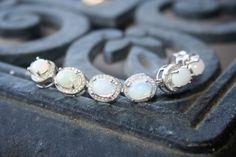 SELL OUT ...Bracelet   14 K white gold  by 911VintageAddiction