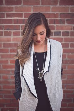 Top off your LBD with easy outerwear!
