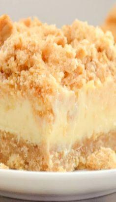 Creamy Lemon Cheesecake Crumb Bars