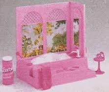 Barbie vintage 1980s bubble bath. Somewhere in the dark recesses of my mind I remember having this.