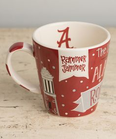 Another great find on #zulily! Alabama Crimson Tide Collegiate Mug by Glory Haus #zulilyfinds