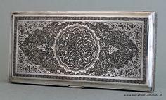 Persian silver box - 84 isfahan