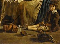 Frères Le Nain (XVIIe siècle/17th century), Famille de paysans dans un intérieur, détail / Peasant family in an interior, detail © RMN-Grand Palais / Musée du Louvre - Jean-Gilles Berizzi