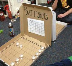 Battleshots party game...no more beer pong!