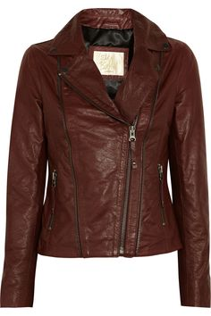 Rudy leather biker jacket by Sara Berman
